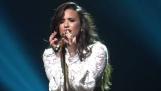 Demi Lovato sorprendió con cover de Adele