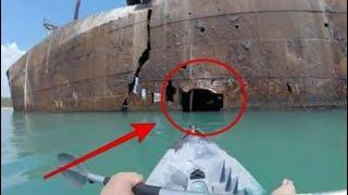 Video Pria ini coba masuk lubang Kapal Bekas yg Terdampar, Pemandangan di dalamnya begini mengagumkan MP3, 3GP, MP4, WEBM, AVI, FLV September 2017