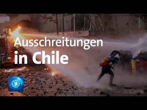 Erneut Ausschreitungen in Chile bei regierungskritischen Protesten