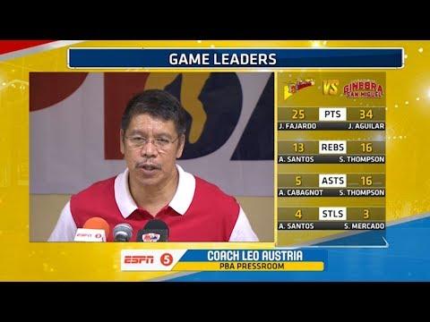 Presscon: San Miguel vs. Ginebra | PBA Philippine Cup 2018 (видео)