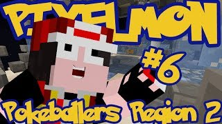 Minecraft Pixelmon: Pokeballers Server Region 2 - Episode 6 - FINALLY BEAT THE FIRST GYM!!!