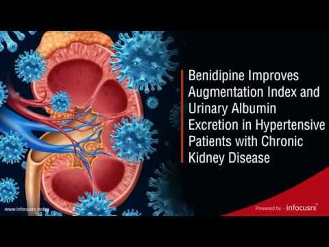 Benidipine Improves Augmentation Index in Hypertensive Chronic Kidney Disease Patients