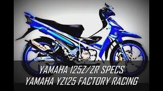 6. 125Z/ZR COPY SPECS YZ125 FACTORY RACING