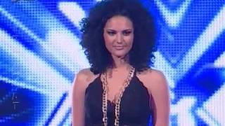 X Factor Albania - 8 Janar 2012 - Sheila Haxhiraj
