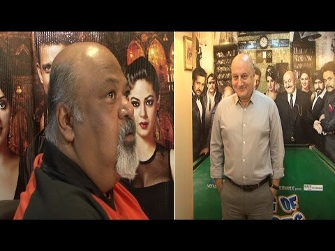 Interview With Anupam Kher and Saurabh Shukla For Movie Gang Of Ghosts
