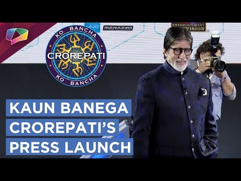 Sony Tv Hosts Kaun Banega Crorepati's Launch