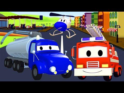 Video Tyson el Camión Tanque no tiene gasolina ! La Super Patrulla en Auto City   Dibujos animados download in MP3, 3GP, MP4, WEBM, AVI, FLV January 2017