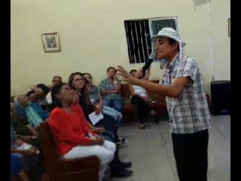 Klebson Oliveira declama na Missa das Mães em Vertente do Lerio