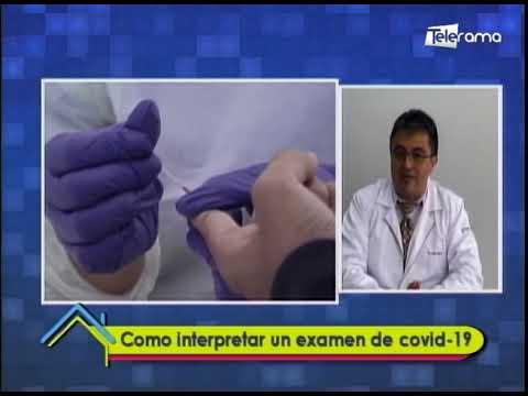 Cómo interpretar un examen de covid-19