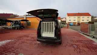 Otevírání zadních výklopných dveří AUTOMATIC DOOR 001 ve voze VW Caddy