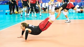 TOP » 50 Legendary Volleyball Saves (Digs) | Volleyball Nations League 2018
