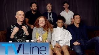 "Michael Ausiello chats with the cast of ""Star Trek: Discovery."" ► http://bit.ly/TVLineSubscribehttp://tvline.comFollow Us On SocialTwitter http://twitter.com/MichaelAusiello, http://twitter.com/TVLineFacebook http://www.facebook.com/pages/TVLineGoogle+ http://plus.google.com/+TVLine"