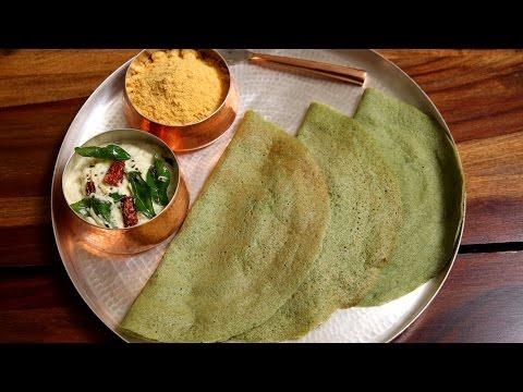 Pesarattu | Green Gram Dal Dosa Recipe | Divine Taste With Anushruti