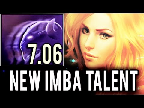 NEW IMBA 7.06 Free Invisibility Windranger by Arteezy ► New Epic Inviz Imba Dota 2