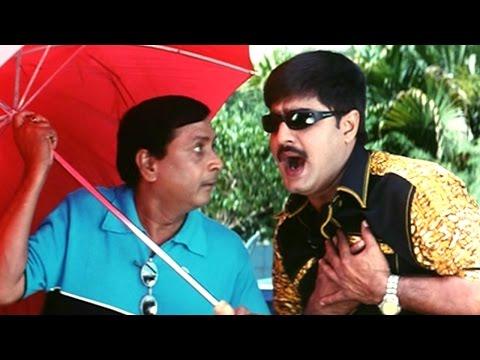Oka Radha Iddaru Krishnula Pelli Movie    Srikanth & M. S. Narayana Hilarious Comedy Scene