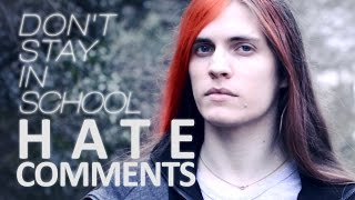 """Video Reacting to """"Don't Stay in School"""" hate comments MP3, 3GP, MP4, WEBM, AVI, FLV Oktober 2018"""