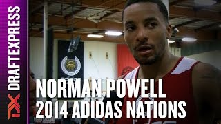 2014 Norman Powell Interview - DraftExpress - Adidas Nations