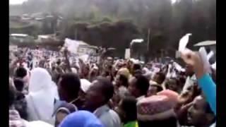 Nationwide Huge Protest After Eid Salat in Addis Abeba, Dessei, Jimma , Adamaa Aug 19,2012