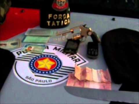 Criminosos praticam roubo e na fuga são presos pela Força Tática