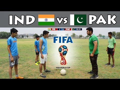 If India Vs Pakistan In FIFA World Cup | Mauka Mauka #KnockThemOut  | Funny Video 2018