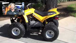 2. 2008 Canam DS 70