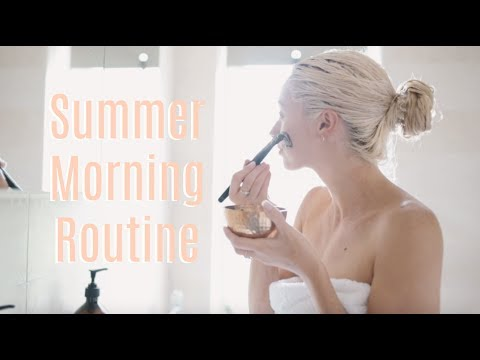 SUMMER MORNING ROUTINE // Weekend Pamper Edition   |   Fashion Mumblr AD