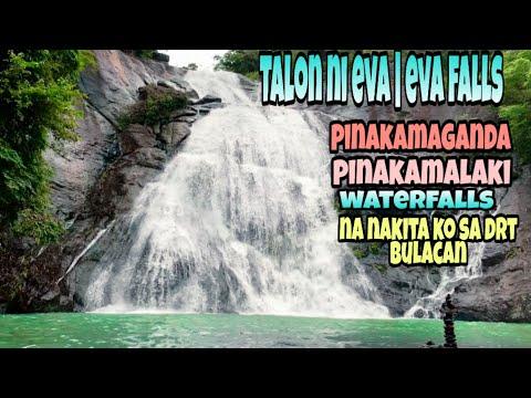 talon ni eva|eva falls|drt bulacan|pinakamaganda at pinakamalaking falls na nakita ko sa drt bulacan