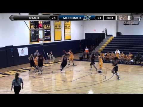 Women's Basketball (12-20-13) Merrimack - 80, Nyack - 42