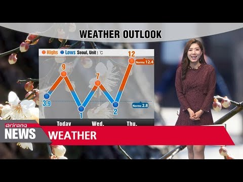 Spring chill to sweep the nation _ 032018 (видео)