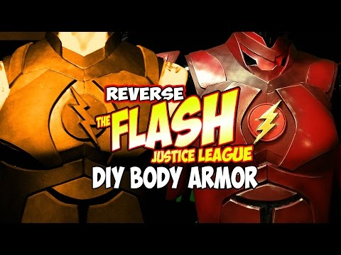 Justice League Flash Costume how to DiY Body Armor