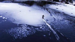 Kolla in när alumnibolagetRadinntestar sin eldrivna surfbräda i Norge. Coolt!