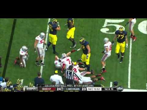 Fitzgerald Toussaint vs Ohio State 2011 video.