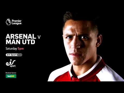 Watch Arsenal V Man Utd LIVE This Saturday From 5pm On BT Sport 1