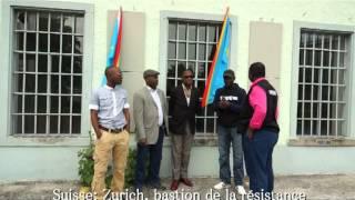 Zurich est le bastion de la résistance congolaise en Suisse contre le hold-up électoral de la dictature totalitaire qui sévit en République dàmocratique du Congo.