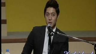 Download Video Kim Hyun Joong Talks About Jung So Min Being a TRIPLE S.... MP3 3GP MP4