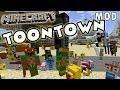 Minecraft Toontown Mod Showcase - Ninja Turtles, Snoopy, Spongebob, Looney Tunes + MORE
