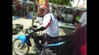 VIDEO Djarum 76 Drag Bike Ngawi, 155cc Tune Up.