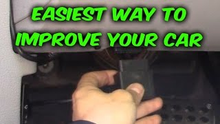 Easy way how to Gain HP or Save Gas MPG Fuel economy, Diablo car tuner review Video