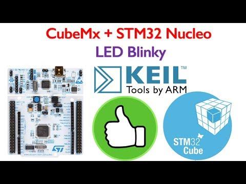 STM32 Nucleo Tutorial 1- LED Blinking code generation using STM32CubeMx for Keil