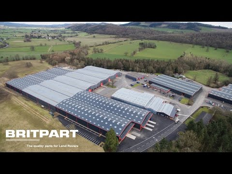 Britpart - A World of Land Rover Parts & Accessories under one (well several) roofs