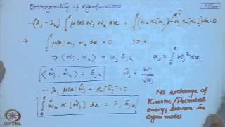 Mod-01 Lec-08 Properties Of The Eigenvalue Problem