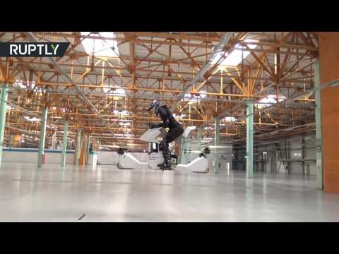 Meanwhile In Russia A Functional Hoverbike Test