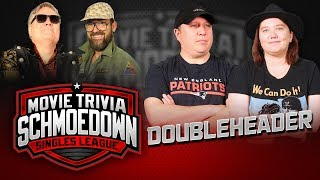 Doubleheader!! JTE vs Liz Shannon Miller & Burnett vs Dagnino - Movie Trivia Schmoedown by Schmoes Know