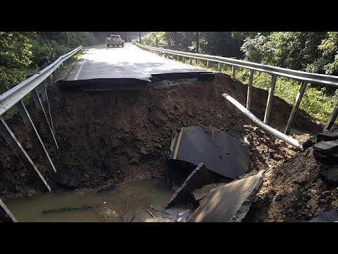 ΗΠΑ: Δεκάδες νεκροί από τις πλημμύρες στη Δυτική Βιρτζίνια