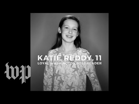 This 11-year-old girl is a loyal Washington Post reader