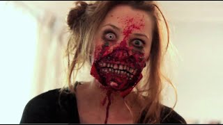 Video Ripped Mouth Zombie Makeup Application | Freakmo MP3, 3GP, MP4, WEBM, AVI, FLV Januari 2018