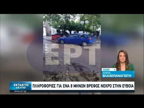 Τραγωδία στην Εύβοια: Τρεις νεκροί από τις φονικές πλημμύρες | 09/08/2020 | ΕΡΤ