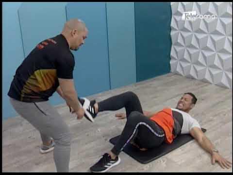 Rutina de rehabilitación de rodilla