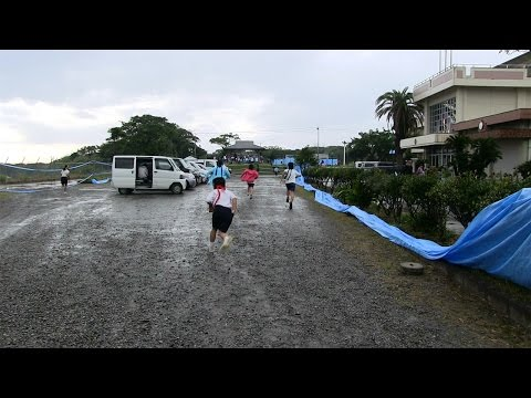 種子島の学校活動:住吉小学校「逃走中」大規模鬼ごっこで遊ぼう!