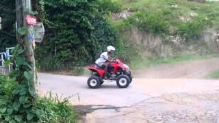 9. quad kymco 300 maxxer top speed,donuts